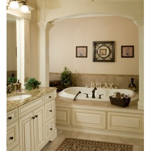 Extravagant bath, Apple Valley Woodworks