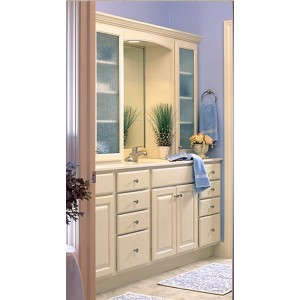 Covington bath by Showplace Wood