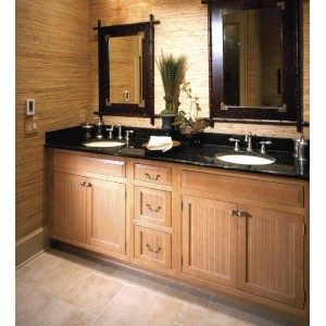 Double Sinks bath, Mouser