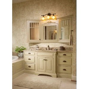 Extravagant bath, CWP Cabinetry