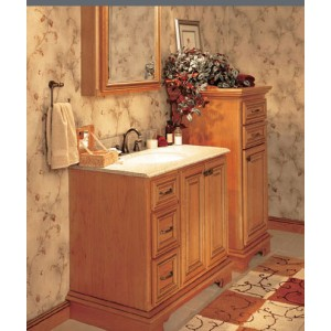 Georgetown bath, Omega Cabinetry