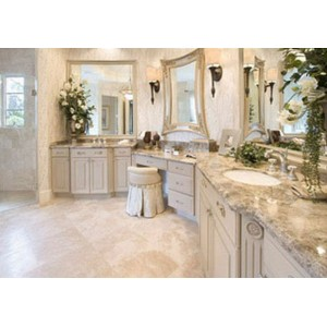 Luxury bath, CWP Cabinetry