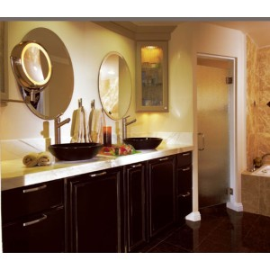 Manhattan bath, Omega Cabinetry