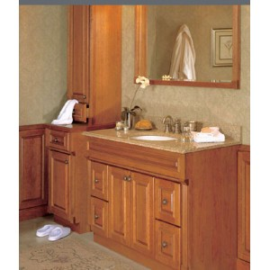 Monticello bath, Omega Cabinetry