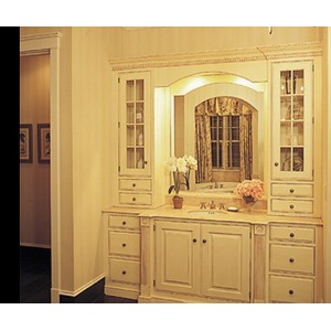 Provence bath by Quality Custom Cabinetry