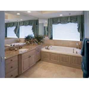 Spring bath by CWP Cabinetry