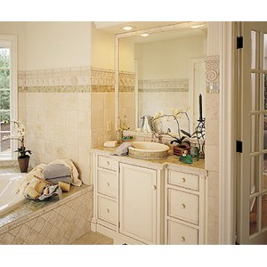Sterling Family bath by Quality Custom Cabinetry