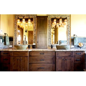 Valley Forge bath, Custom Cupboards