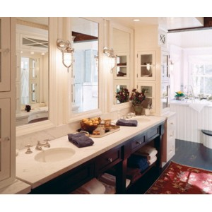 Valley Forge bath by Quality Custom Cabinetry