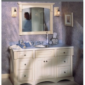 Versailles bath, Omega Cabinetry