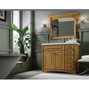 Wellsburg bath, Omega Cabinetry