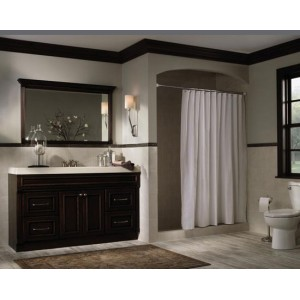 Winthrop bath, Omega Cabinetry