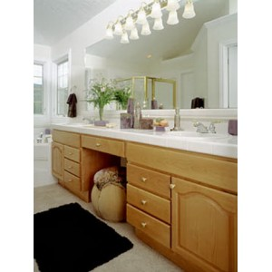Cathedral bath by Crown Cabinets