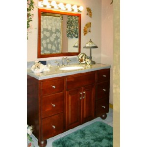 Extravagant bath, Great Northern Cabinetry