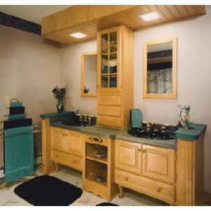 Olympus bath, Great Northern Cabinetry