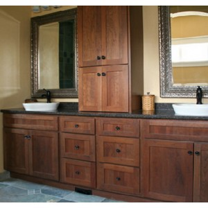 Shakertown bath, Great Northern Cabinetry