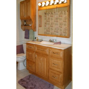 Venice bath, Great Northern Cabinetry