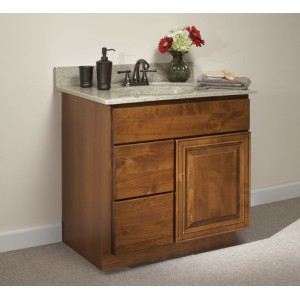 Williamsburg Woodbury bath, Kountry Wood Products