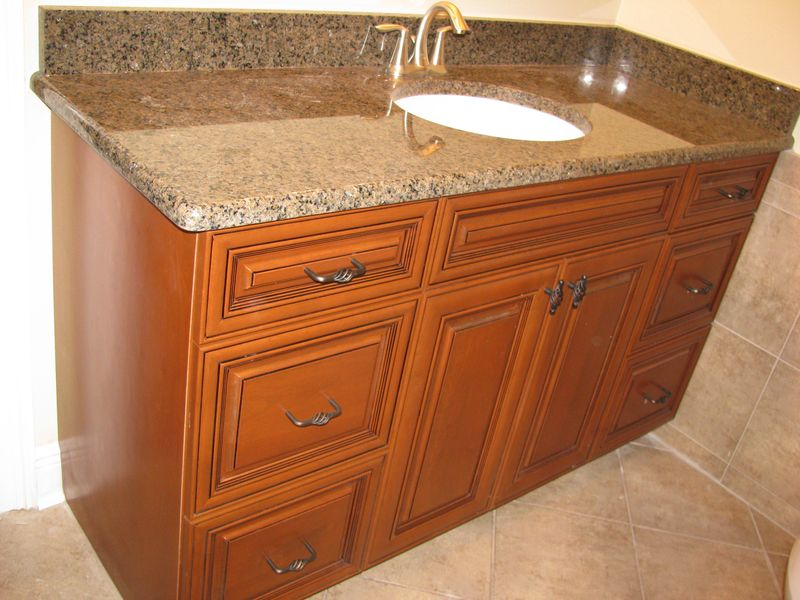 Elite Bath, Prestige Cabinets. Elite