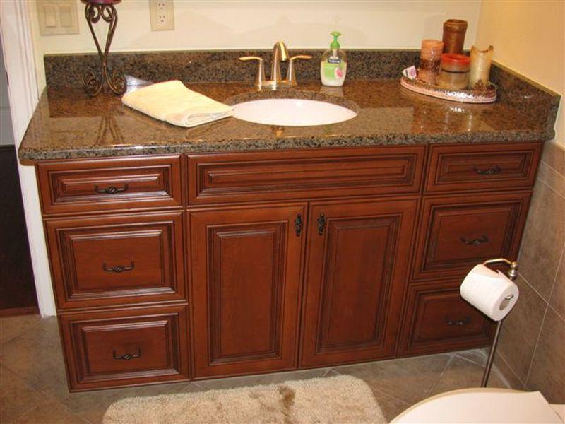 Master Bath, Prestige Cabinets. Master
