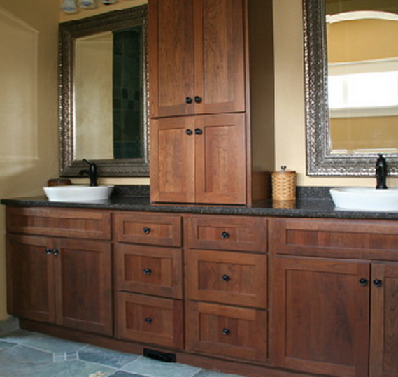 Shakertown Bath, Great Northern Cabinetry. Shakertown
