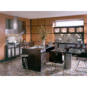 Art Deco kitchen, Wood-Mode