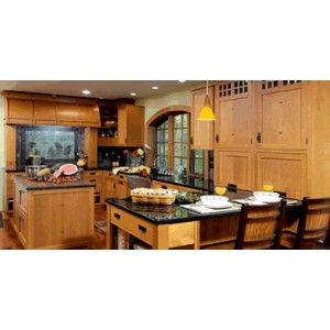 Arts and Crafts kitchen, Premier Custom Built