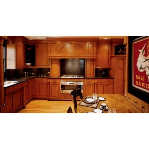 Biedermeier kitchen, Premier Custom Built