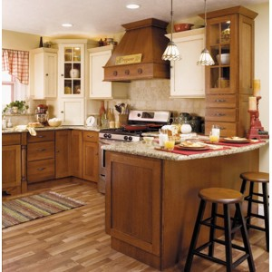 Bridgeport and Farmington kitchen by StarMark Cabinetry
