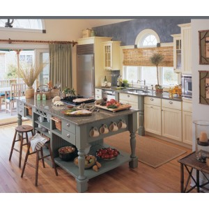 Clairemont kitchen, Omega Cabinetry