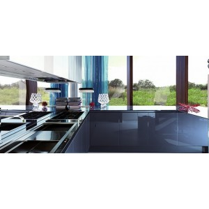 Contempora Glass kitchen, Aster Cucine