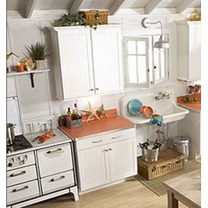 Cottage kitchen by Mid Continent