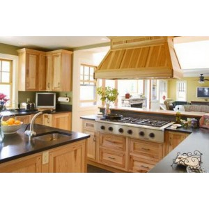Cottage kitchen by Candlelight Cabinetry