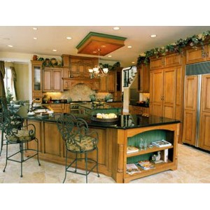 Custom Solid Color Accents kitchen, Mouser