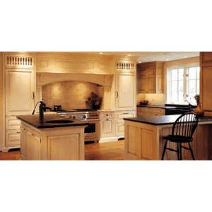 Early American Country A kitchen, Premier Custom Built