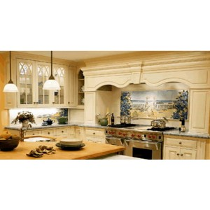 American Formal kitchen, Premier Custom Built