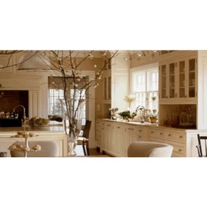 Early American Romance kitchen, Premier Custom Built