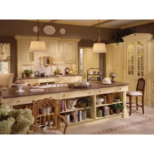 English Country kitchen, Wood-Mode