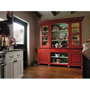 European Country kitchen, Wood-Mode
