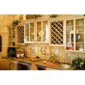 European Country kitchen, OakCraft
