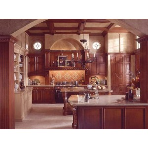 European Heritage kitchen, Wood-Mode