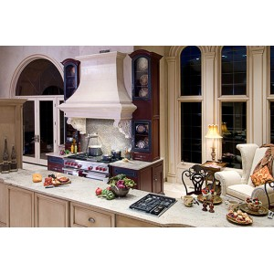 Eye Catching Cooking Center kitchen, Mouser