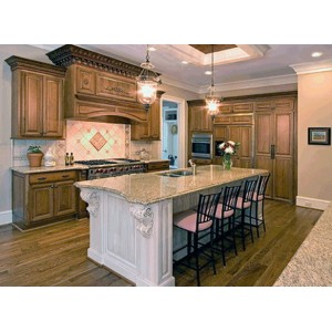 Family kitchen, CWP Cabinetry