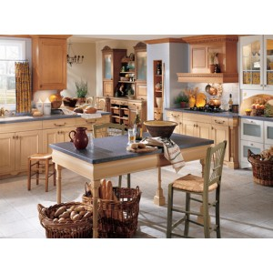 French Chateau kitchen, Wood-Mode