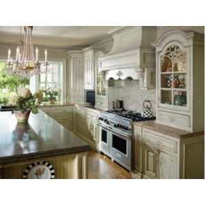 French Country kitchen by Habersham Home