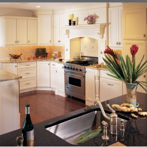 Haverhill kitchen, Omega Cabinetry