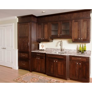 Olympus kitchen, Apple Valley Woodworks