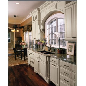 Leclaire Square kitchen, Omega Cabinetry