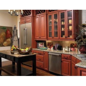 Madison Bordeaux kitchen by Wellborn Forest