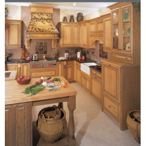 Mandalay kitchen by Omega Cabinetry